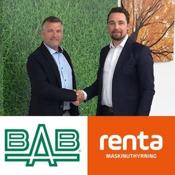 Renta blir ny stolt partner till BAB